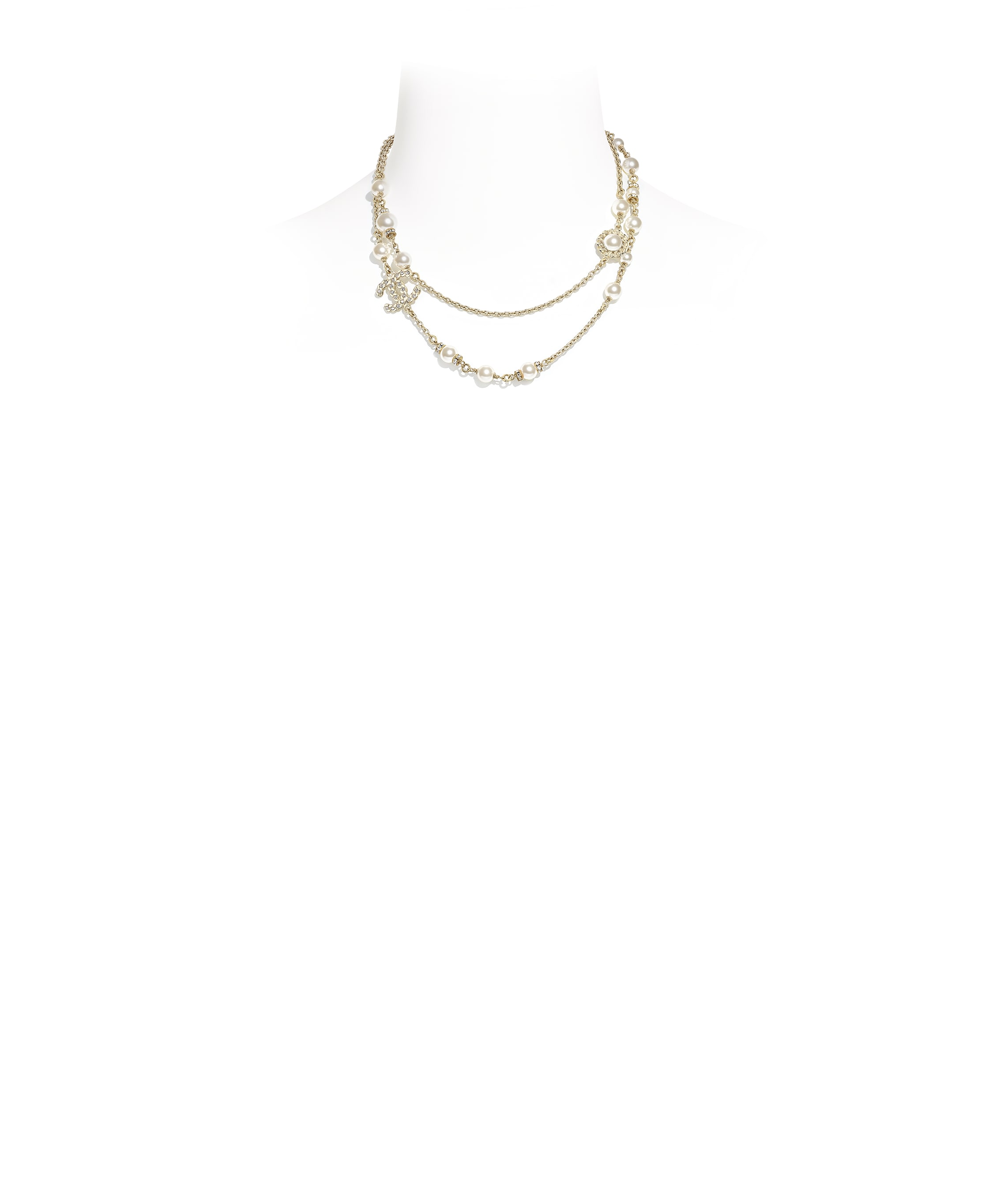 chanel costume jewelry necklace