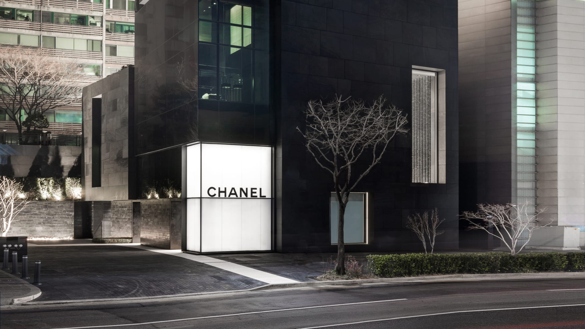 New Chanel<br />boutique in seoul