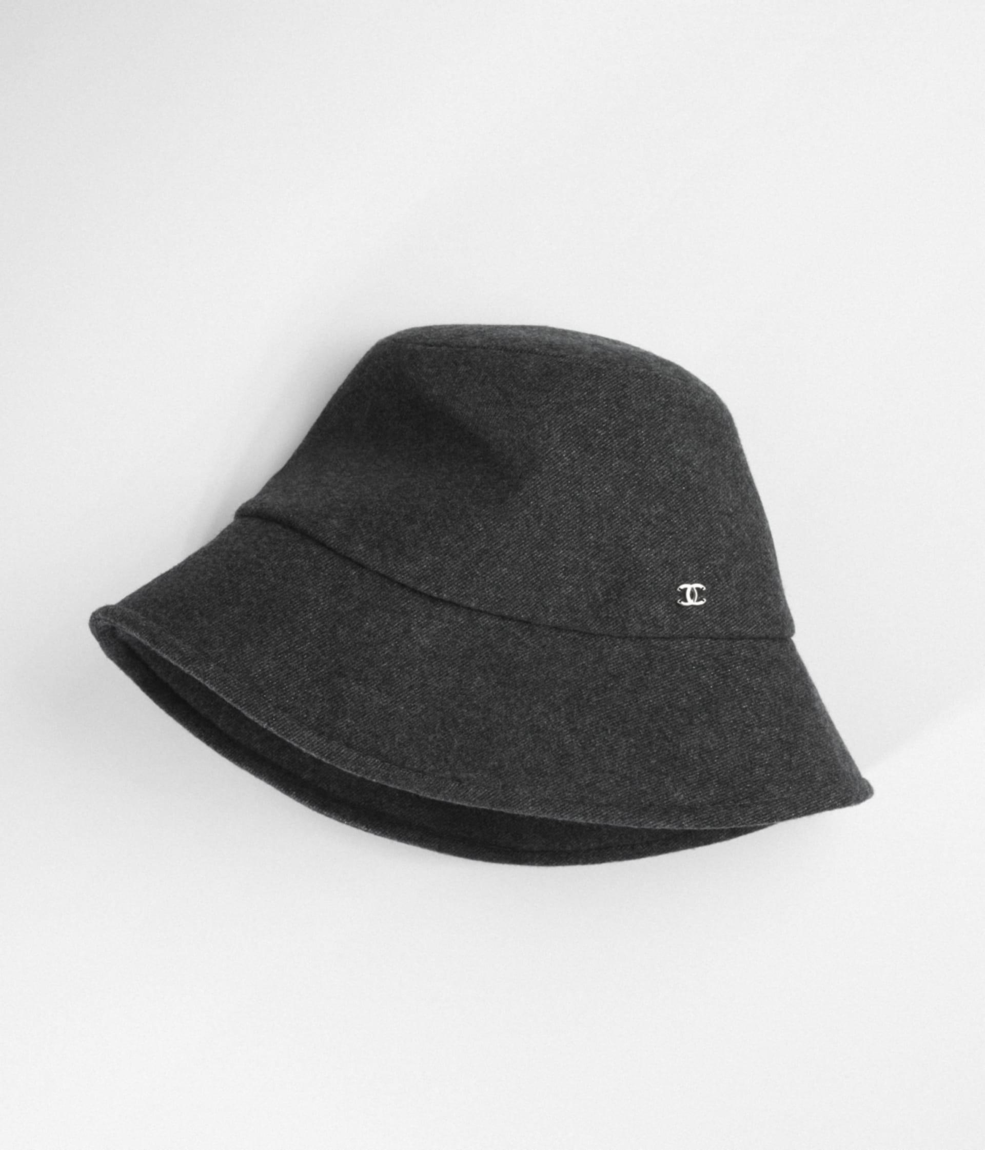 image 1 - Cloche Hat - Tweed - Gray, Black & Silver