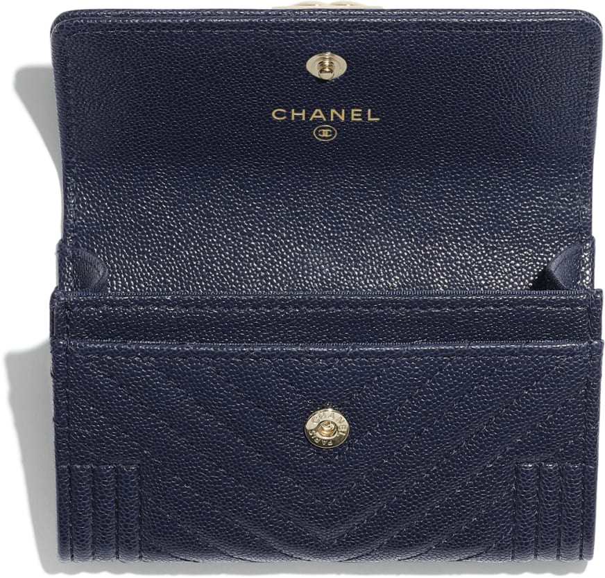 BOY CHANEL Flap Card Holder