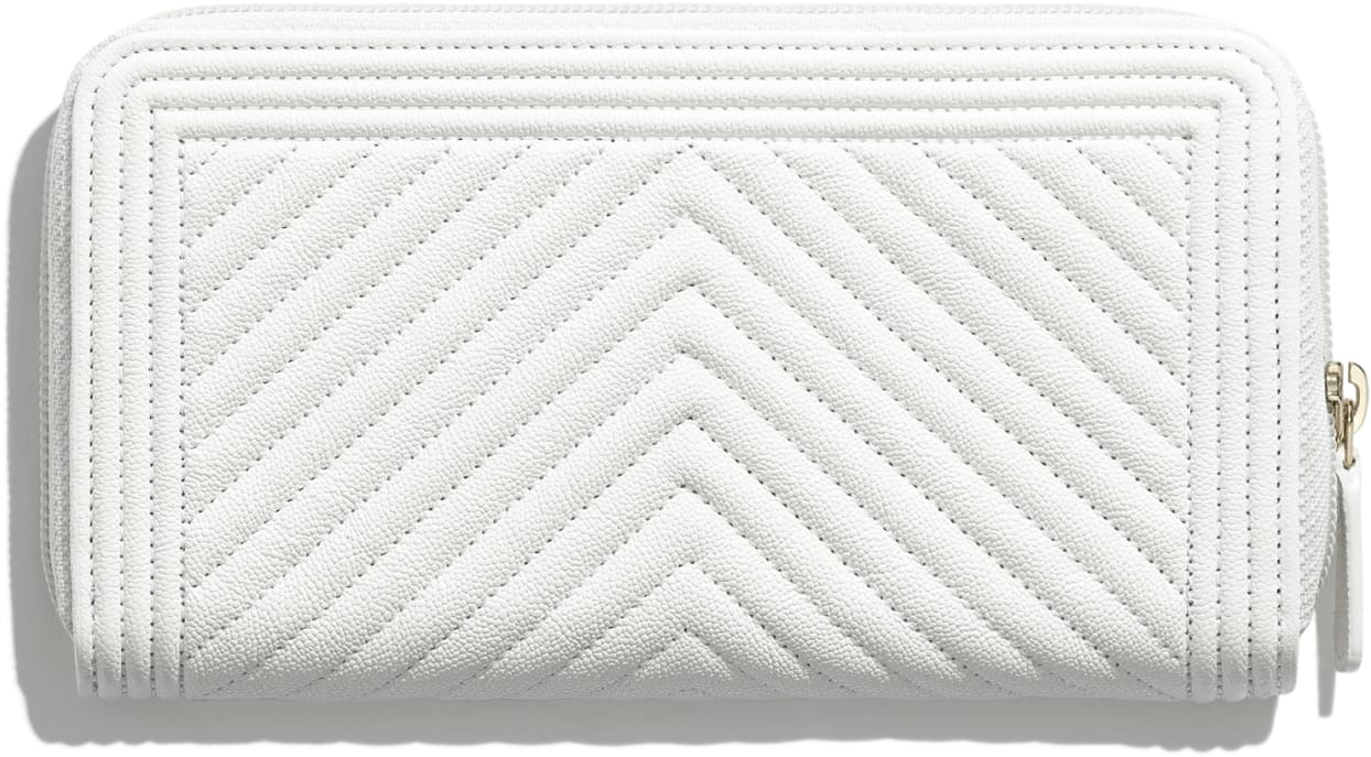 BOY CHANEL Long Zipped Wallet