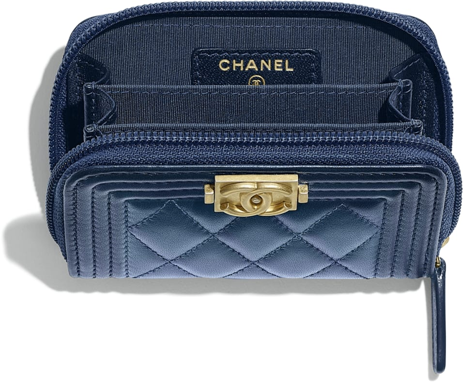BOY CHANEL Zipped Coin Purse