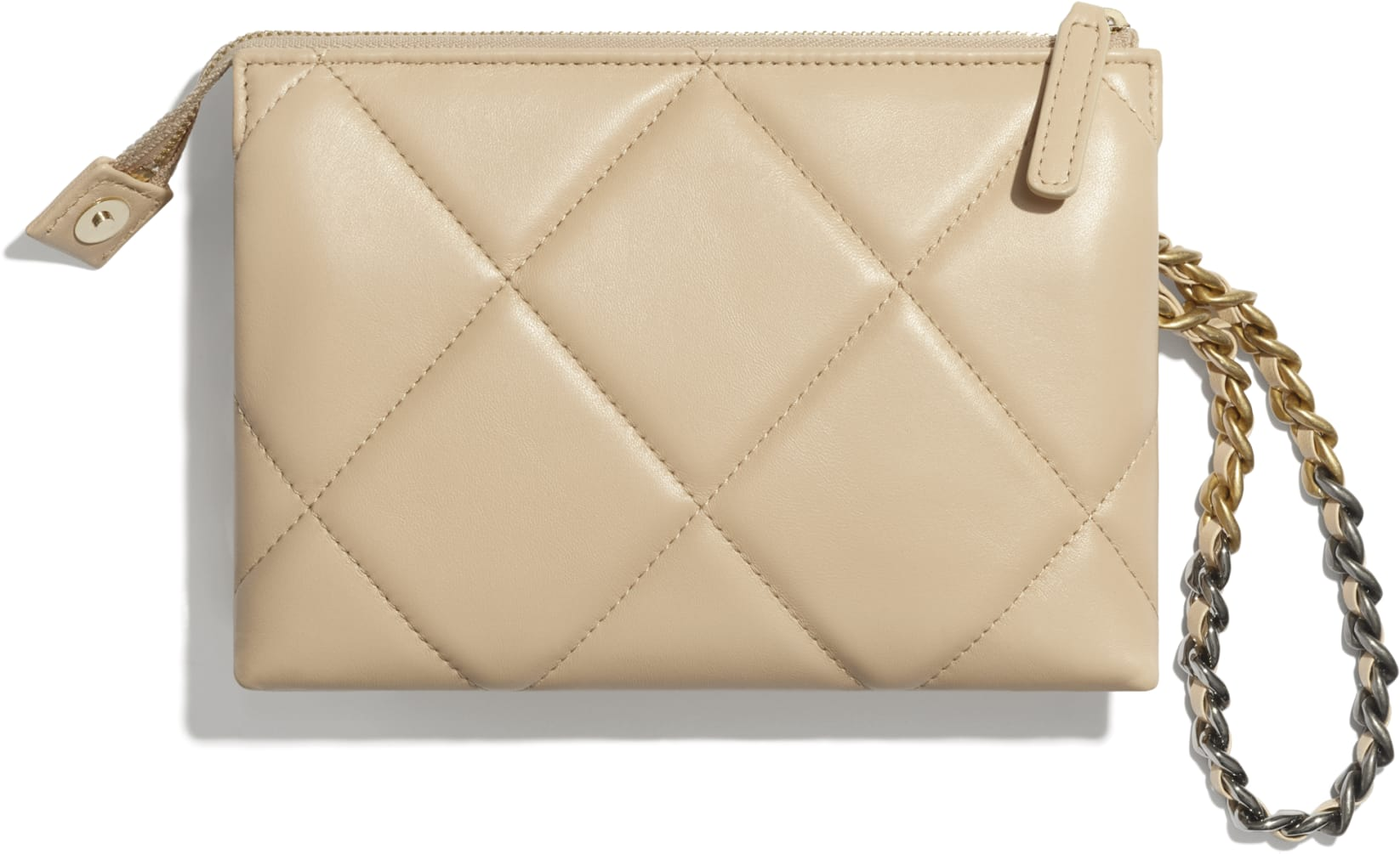 CHANEL 19 Small Pouch with Handle