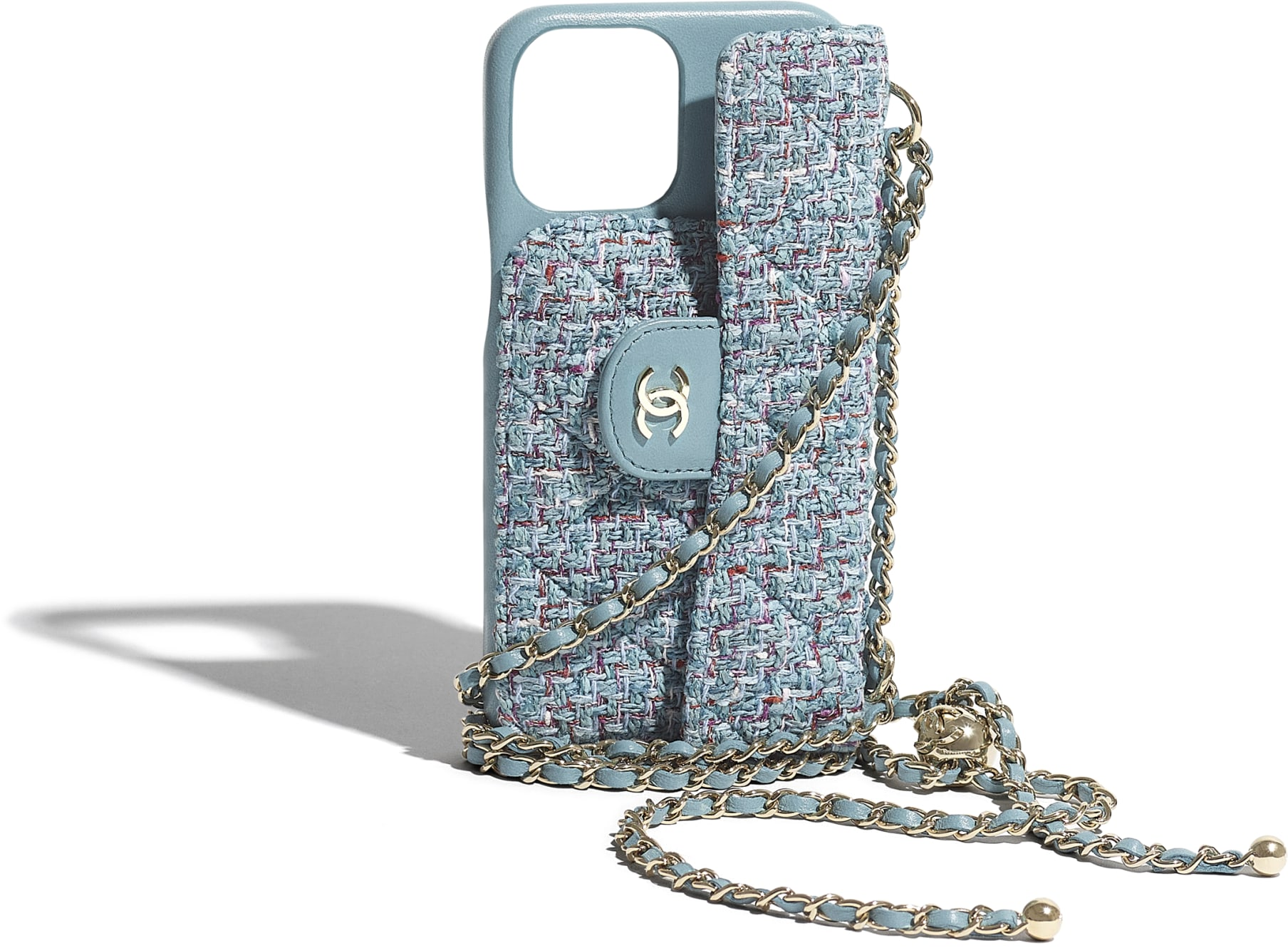 Classic Case for iPhone XII Pro MAX with chain
