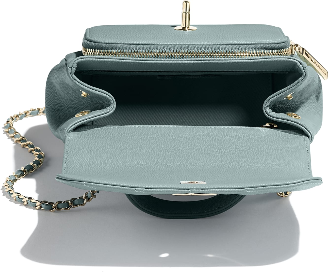 Small Flap Bag with Top Handle