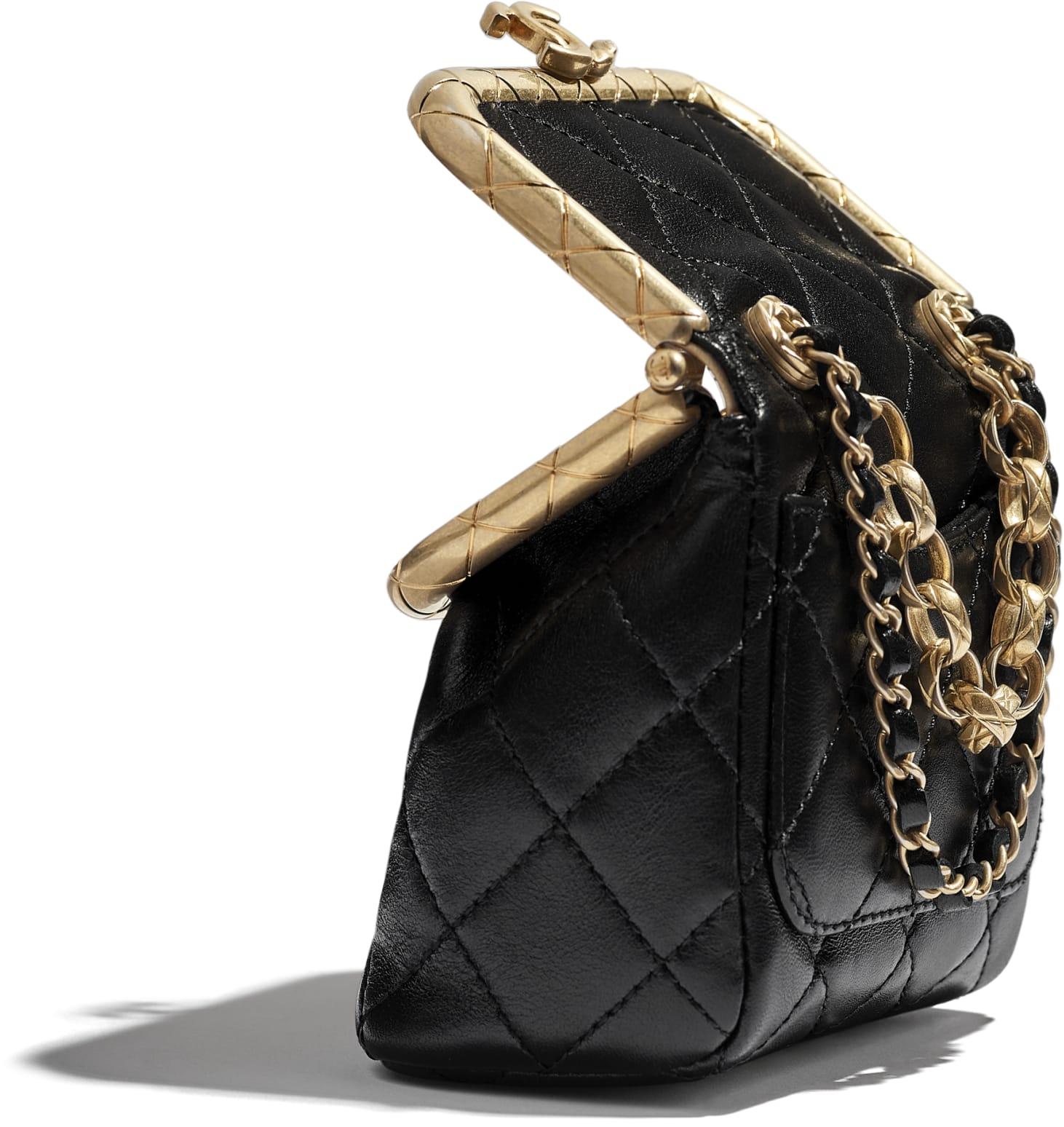 Small Kiss-Lock Bag