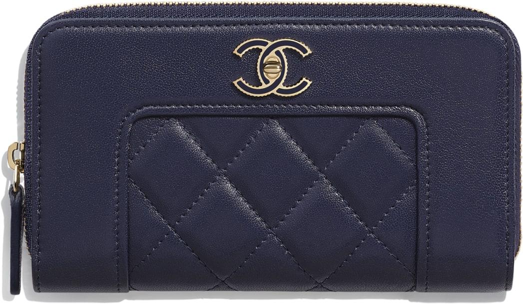 Chanel秋冬銀包