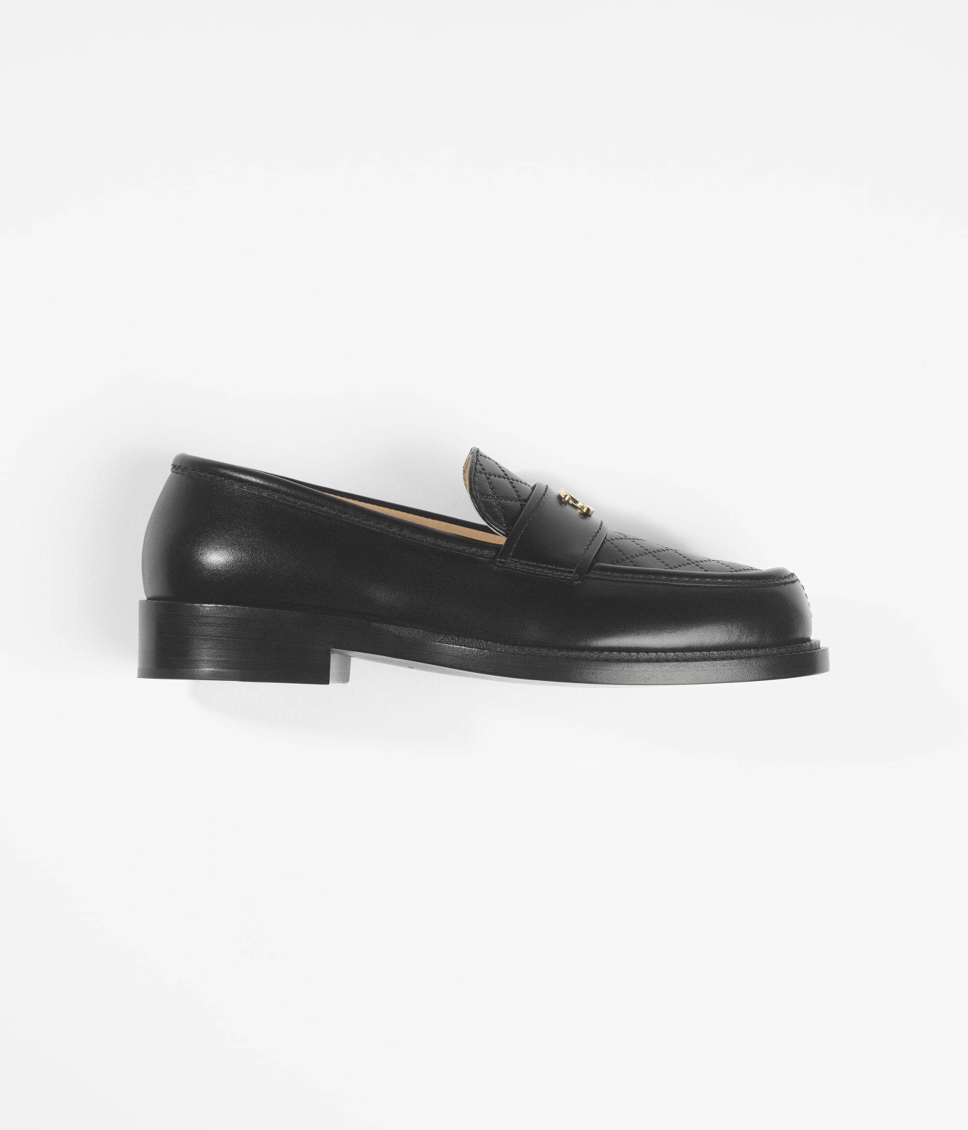 image 1 - Loafers - Shiny Calfskin - Black