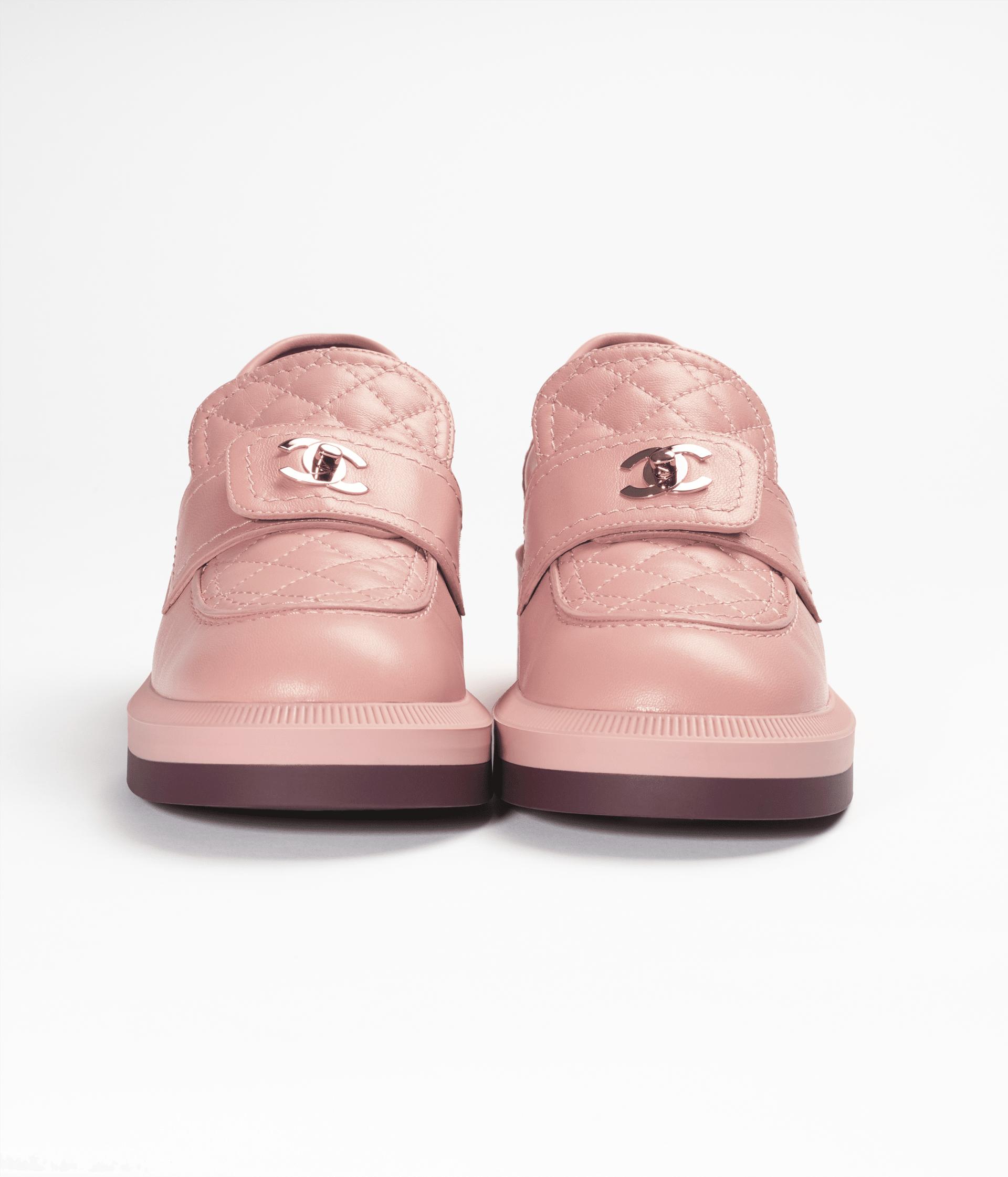 image 3 - Loafers - Lambskin - Dark Pink
