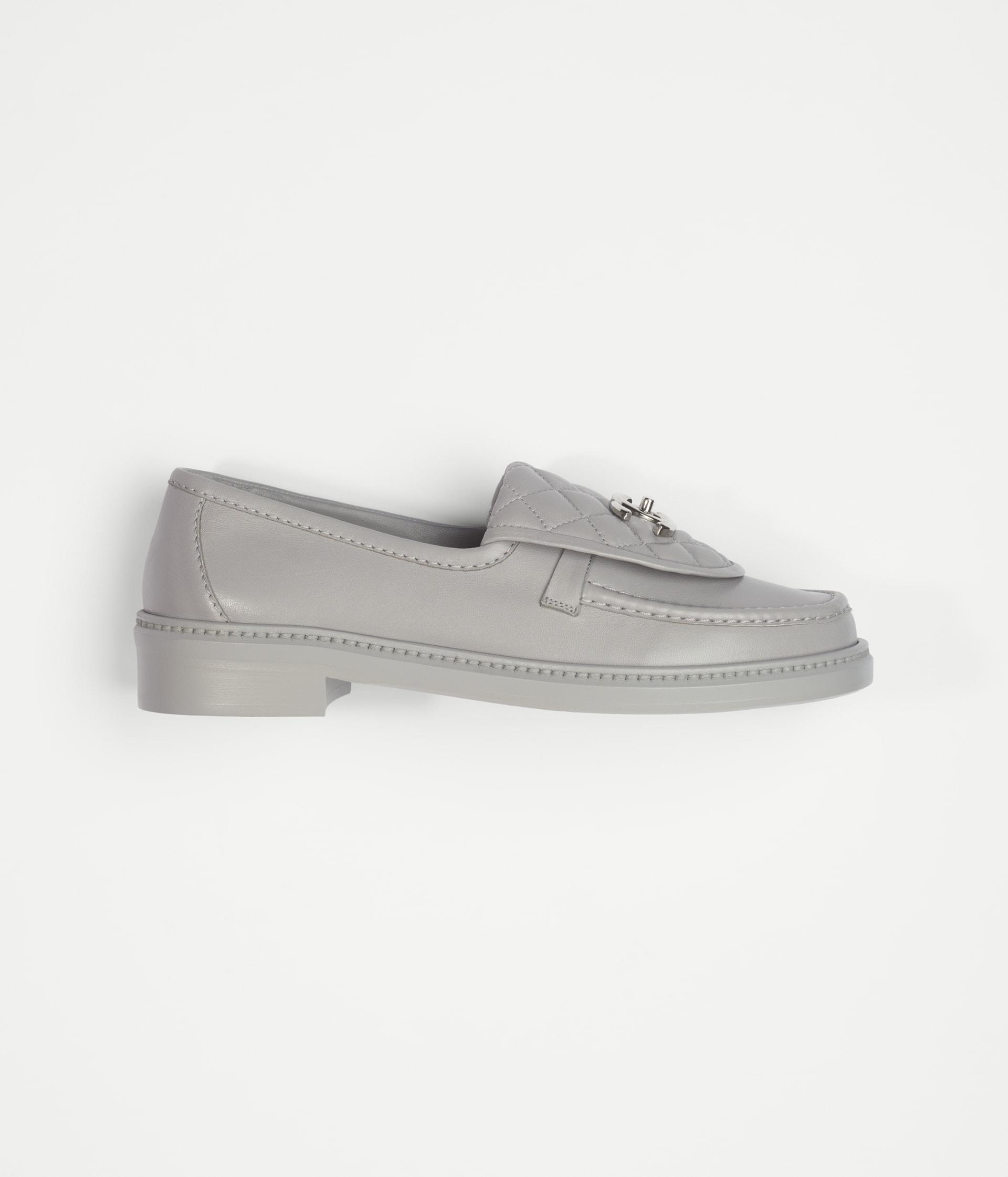 image 1 - Loafers - Lambskin - Gray