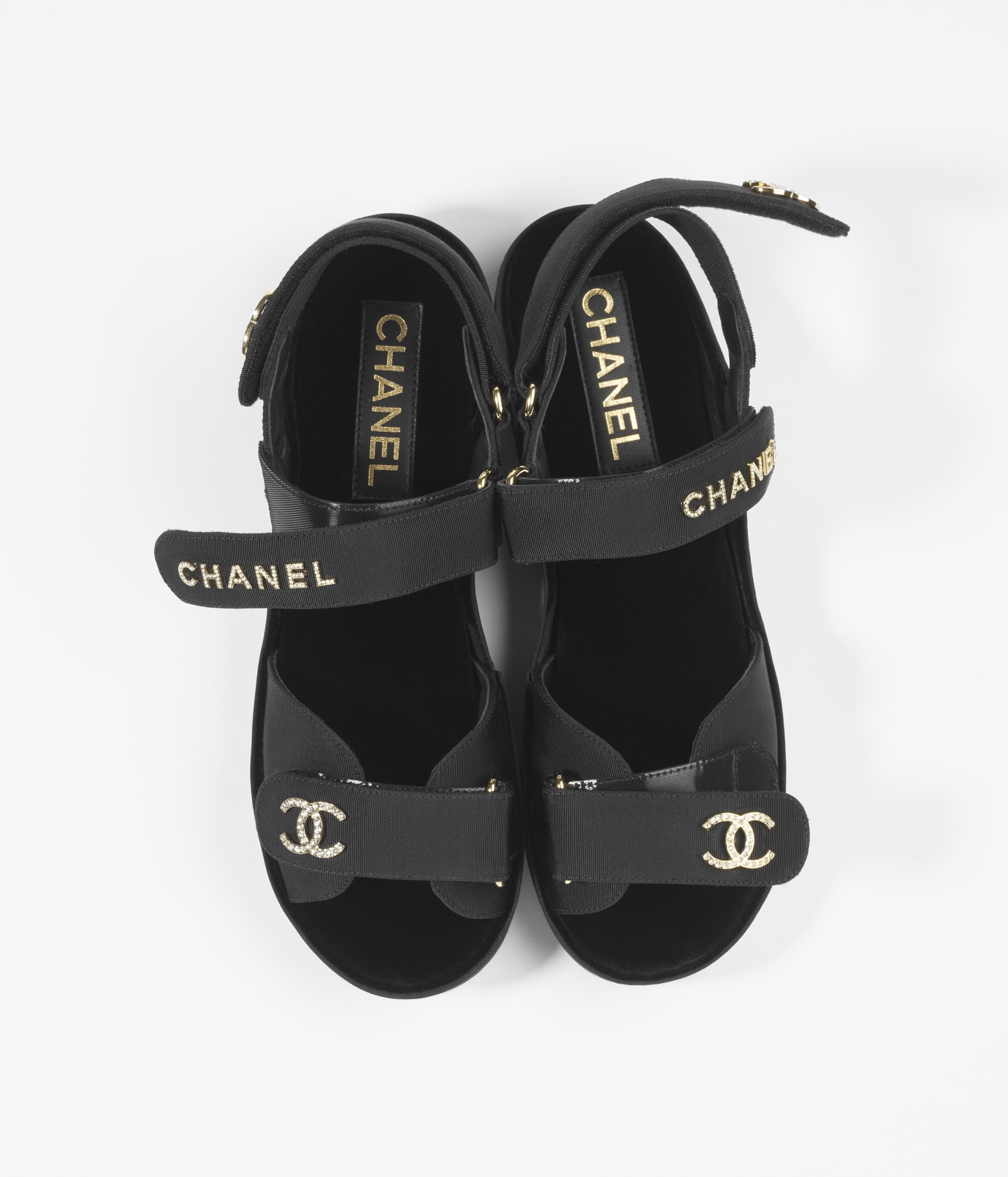 image 2 - Sandals - Grosgrain - Black
