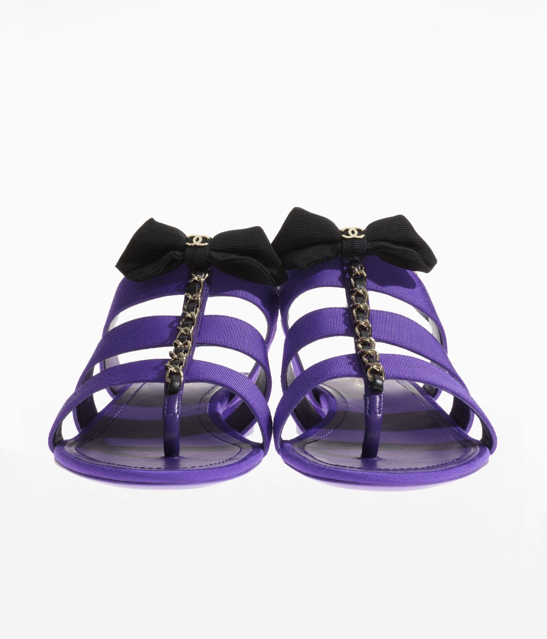 image 3 - Sandals - Grosgrain - Purple