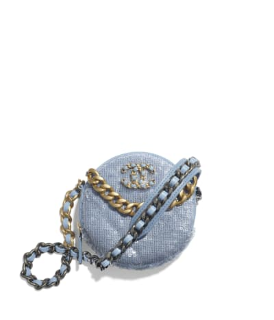Clutch com corrente CHANEL 19