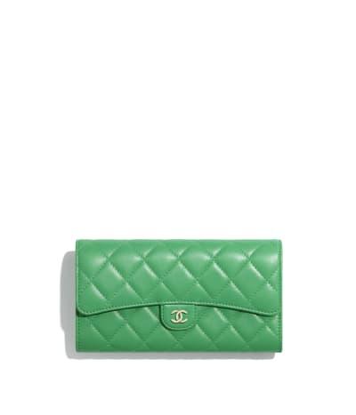 Classic Long Flap Wallet