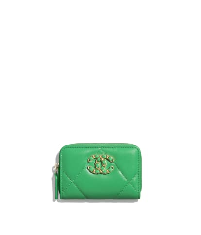 Coin Purse Green Space And House wallet change Purse with Zipper Wallet Coin Pouch Mini Size Cash Phone Holder