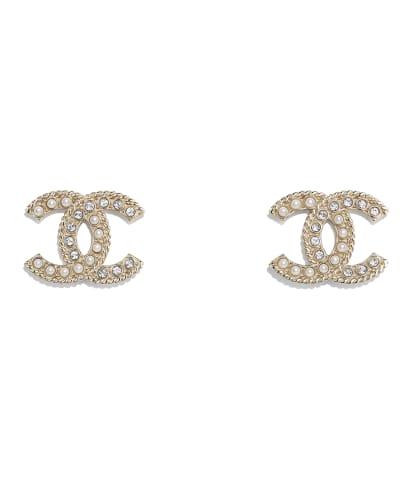 Boucles D Oreilles Bijoux Mode Chanel