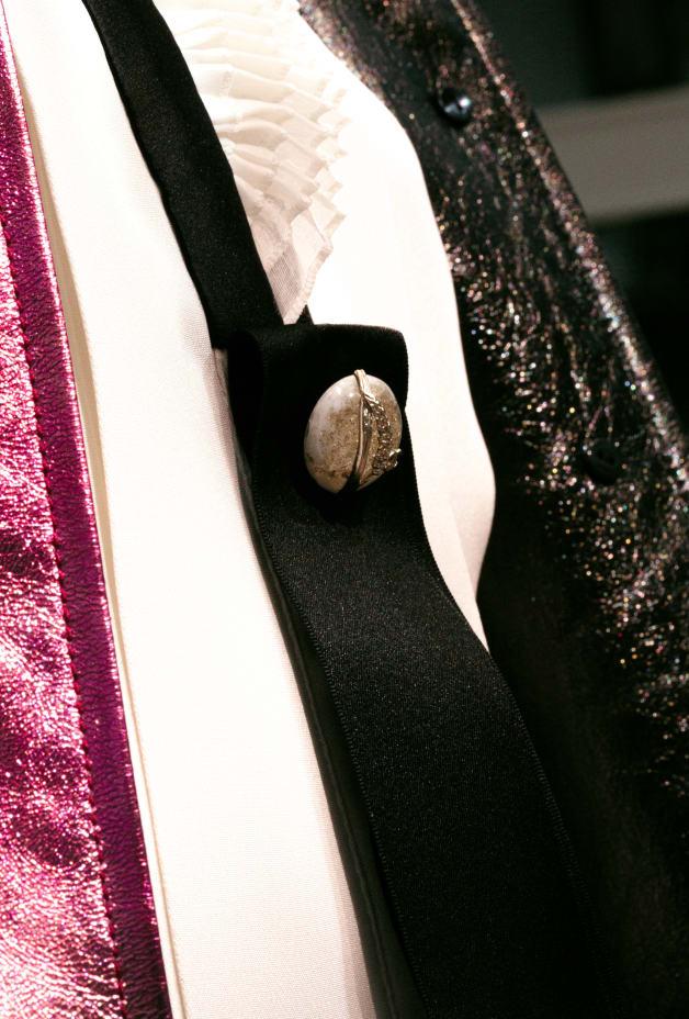 image 2 - Blouse - Crêpe de soie - Écru