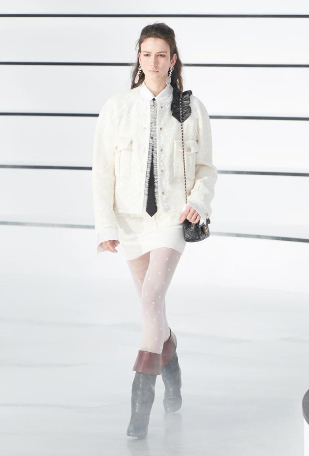 image 1 - Blouse - Silk Satin - White