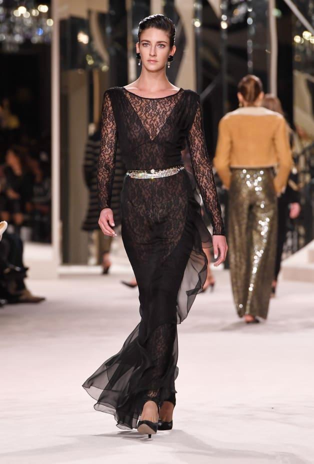 image 1 - Dress - Silk Muslin - Black