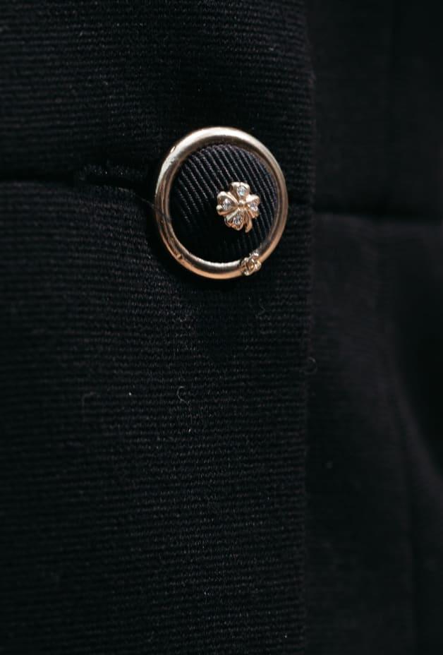 image 3 - Robe - Laine - Noir