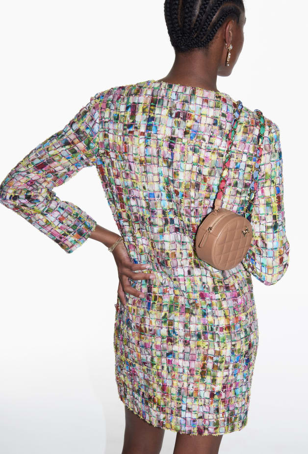 image 2 - Dress - Cotton Tweed - Multicolour