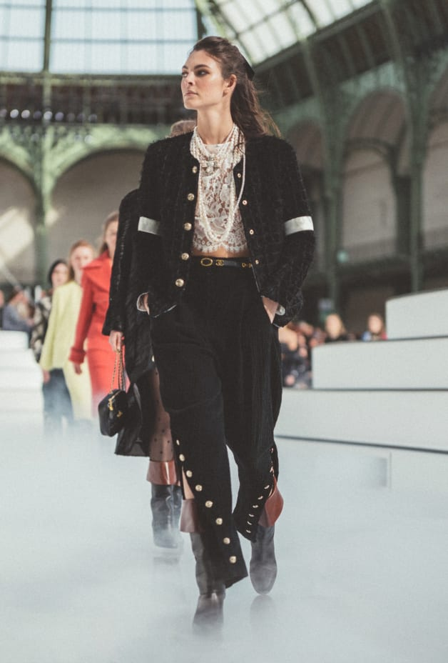 image 1 - Jacket - Tweed - Black