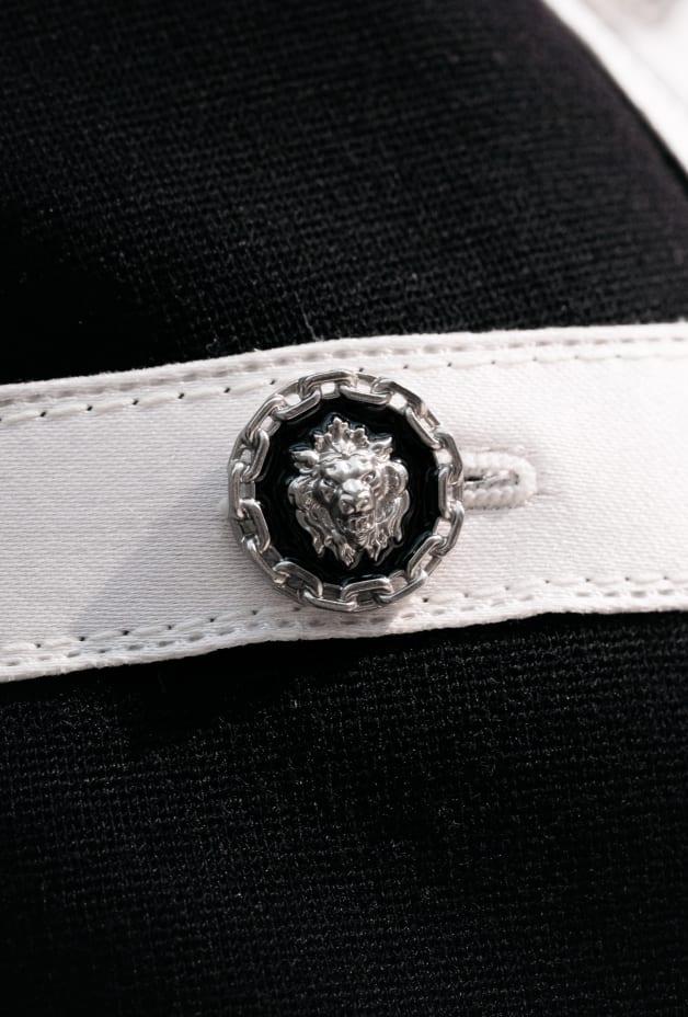 image 3 - Veste - Laine - Noir & blanc