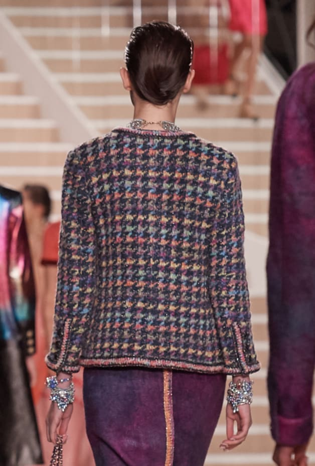 image 2 - Jacket - Silk, Wool & Mixed Fibers - Multicolour