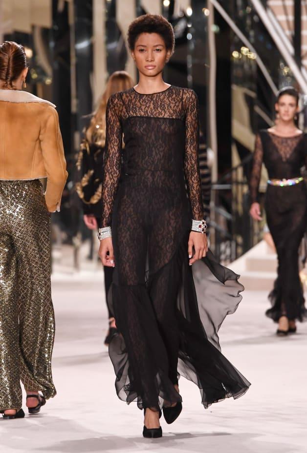 image 1 - Jumpsuit - Lace - Black