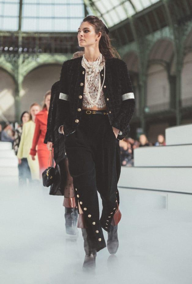 image 1 - Pantalon - Velours de coton - Noir