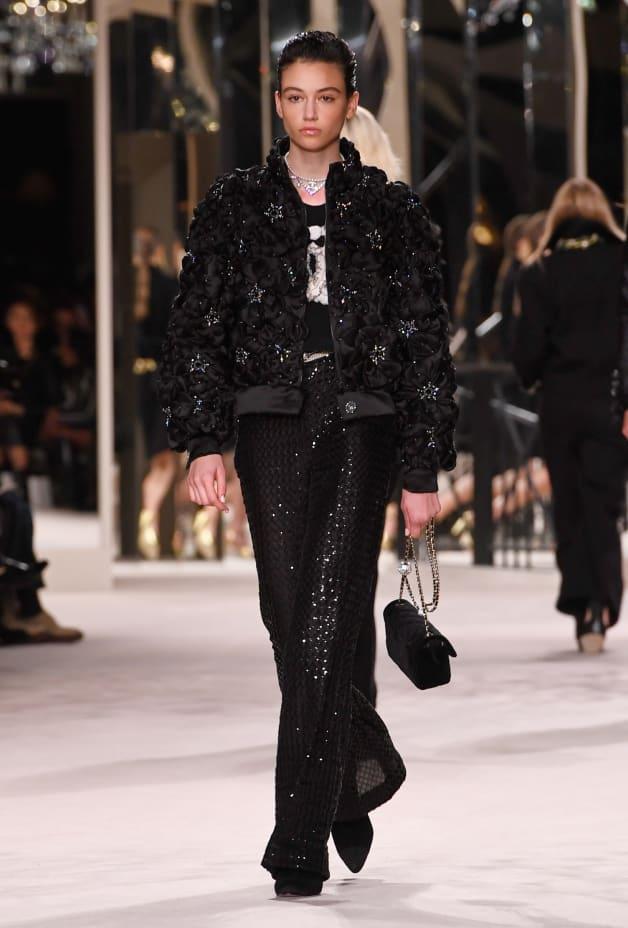 image 1 - Pants - Glittered Tulle - Black