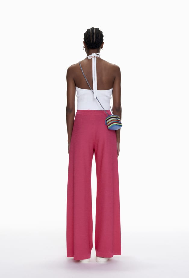 image 2 - Trousers - Mixed Fibres - Pink