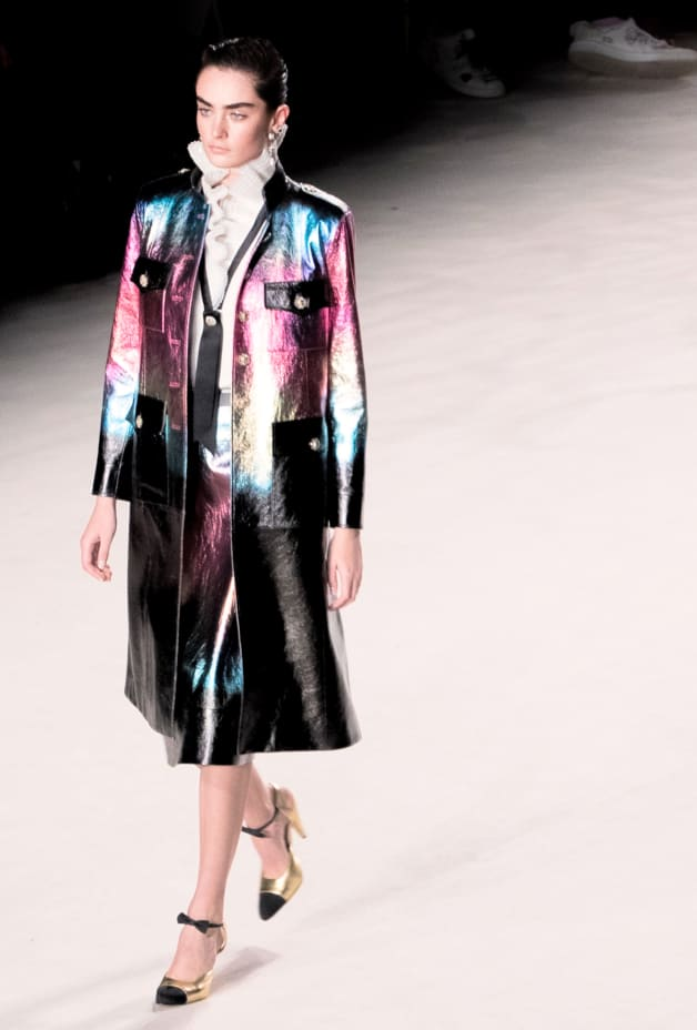 image 2 - Skirt - Lambskin - Black, Pink, Blue & Gold