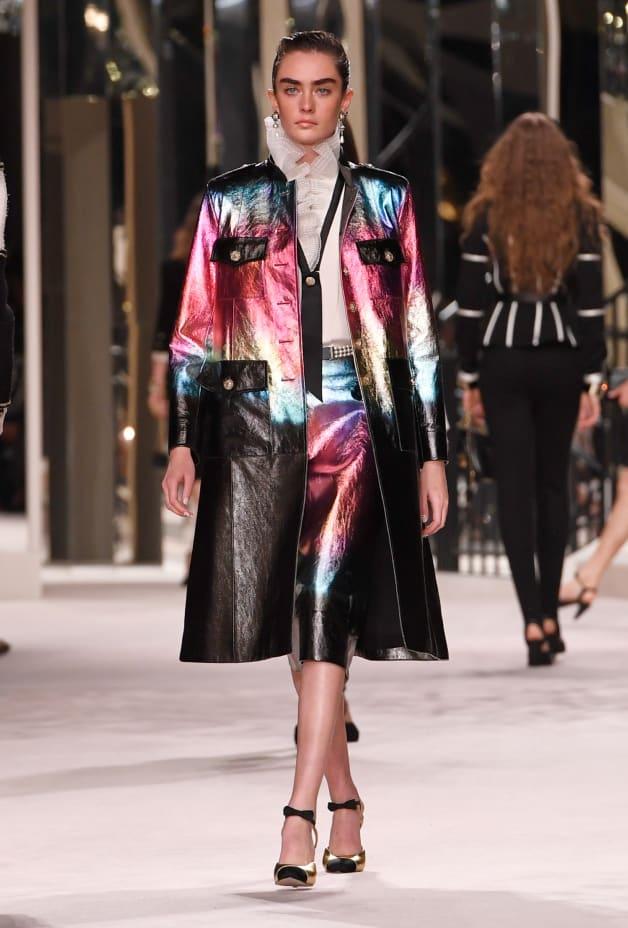 image 1 - Skirt - Lambskin - Black, Pink, Blue & Gold