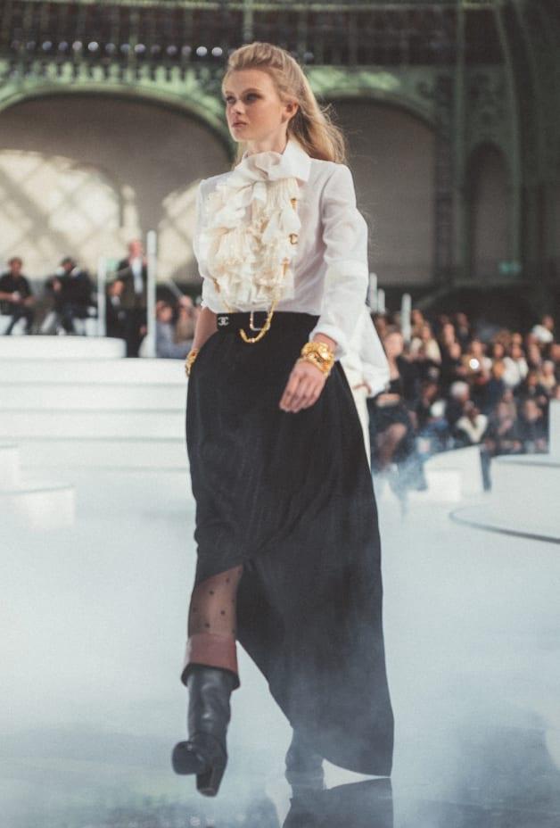image 1 - Skirt - Silk - Black