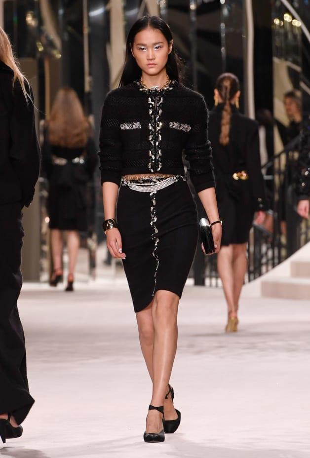 image 1 - Skirt - Wool, Cashmere & Mixed Fibers - Black