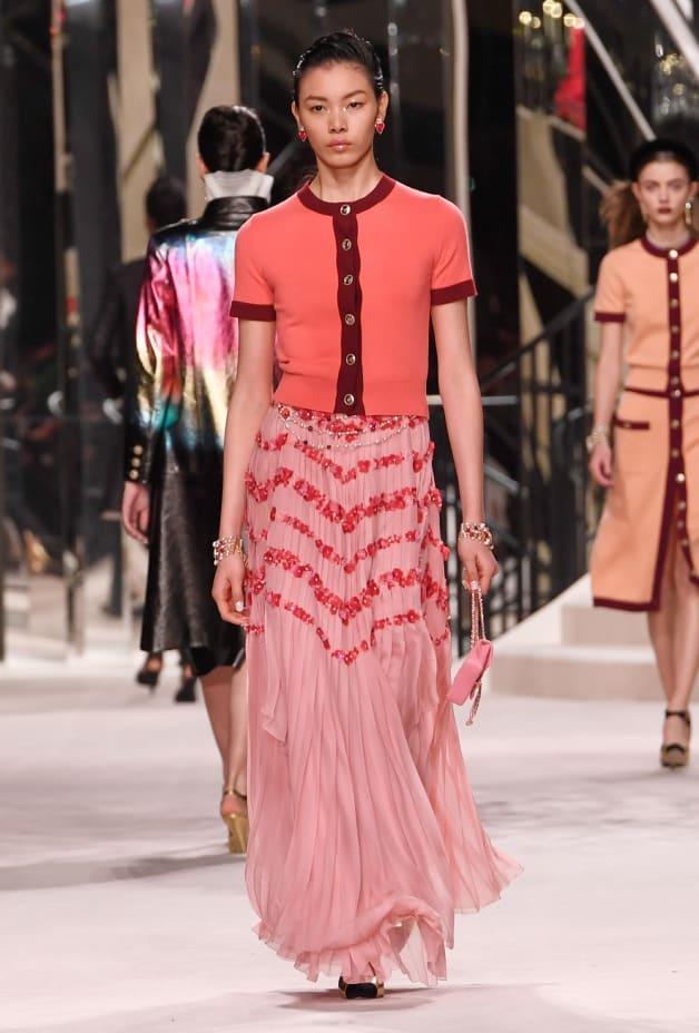 image 1 - Skirt - Silk Muslin - Pale Pink
