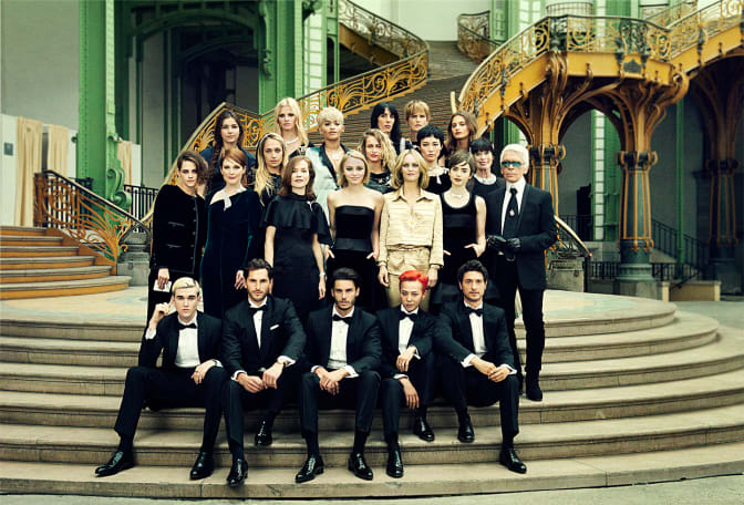 karl-lagerfeld-and-his-guests