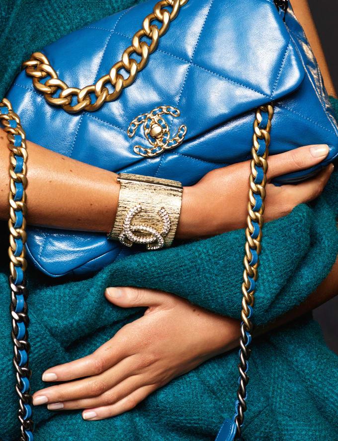 Image result for chanel 19 bag