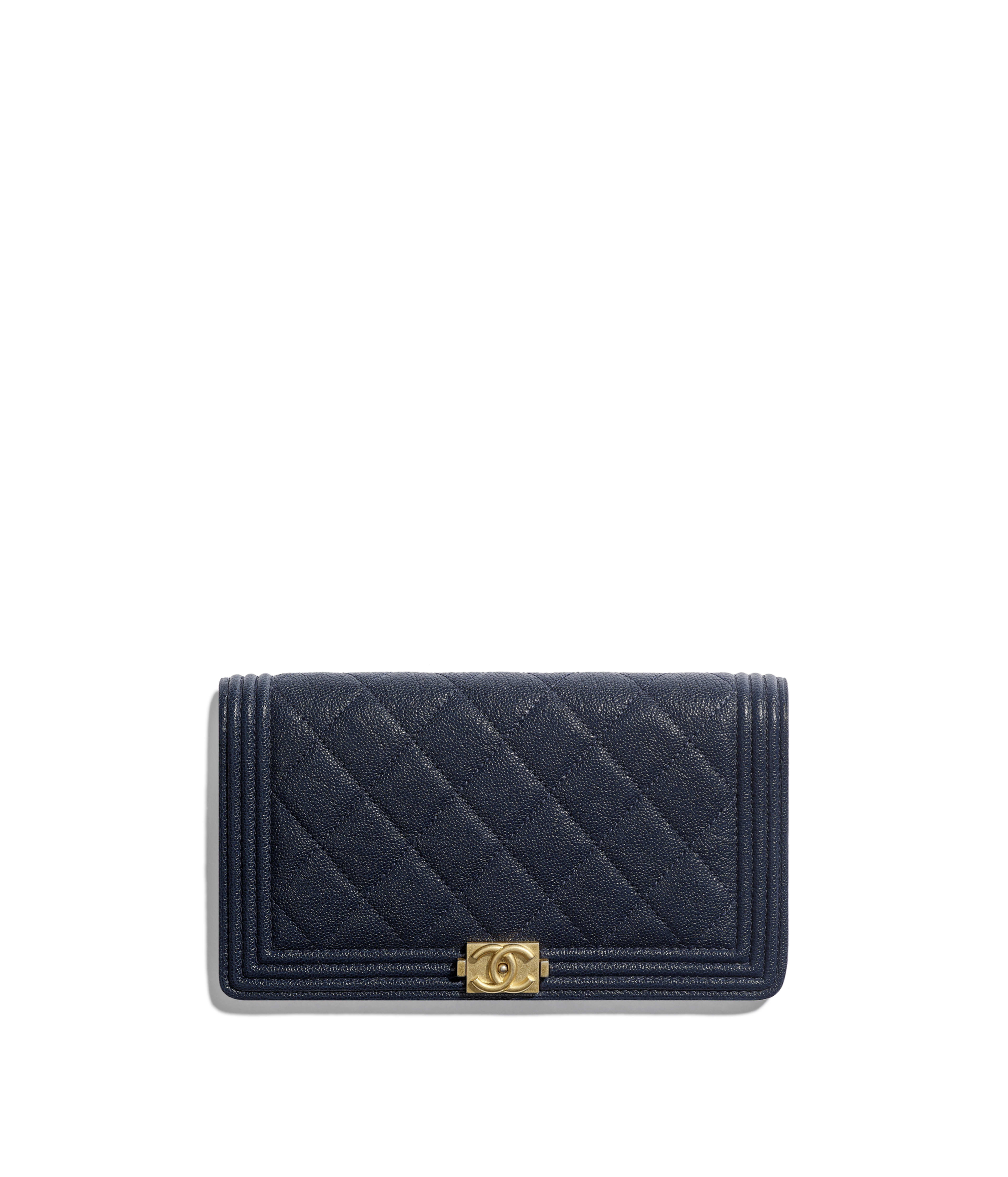 d041cbcf647204 Long Wallets Small Leather Goods Chanel. Chanel Boy Yen Wallet Quilted  Lambskin ...