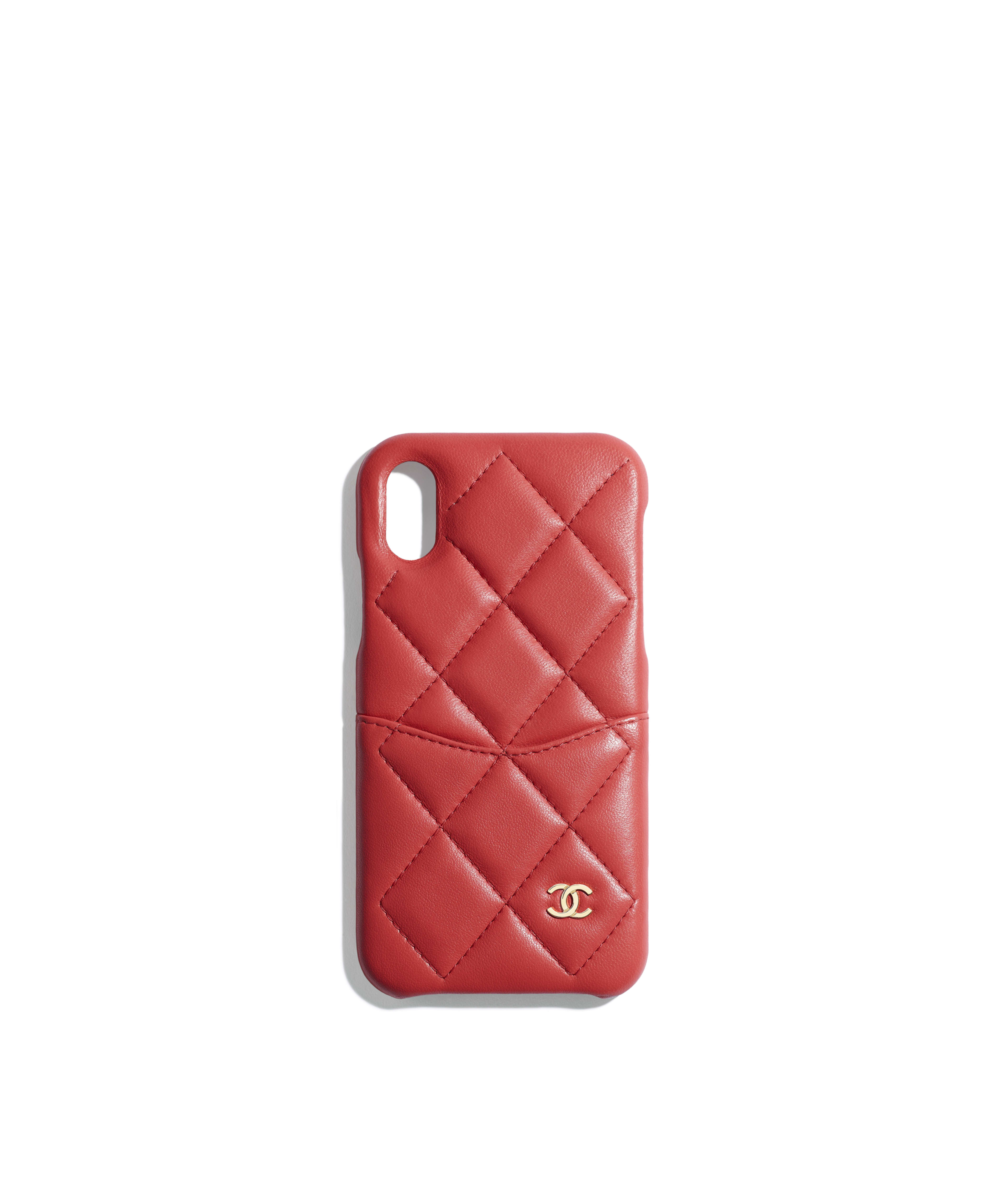 buy popular 2e832 be8da Tech Cases - Small leather goods | CHANEL