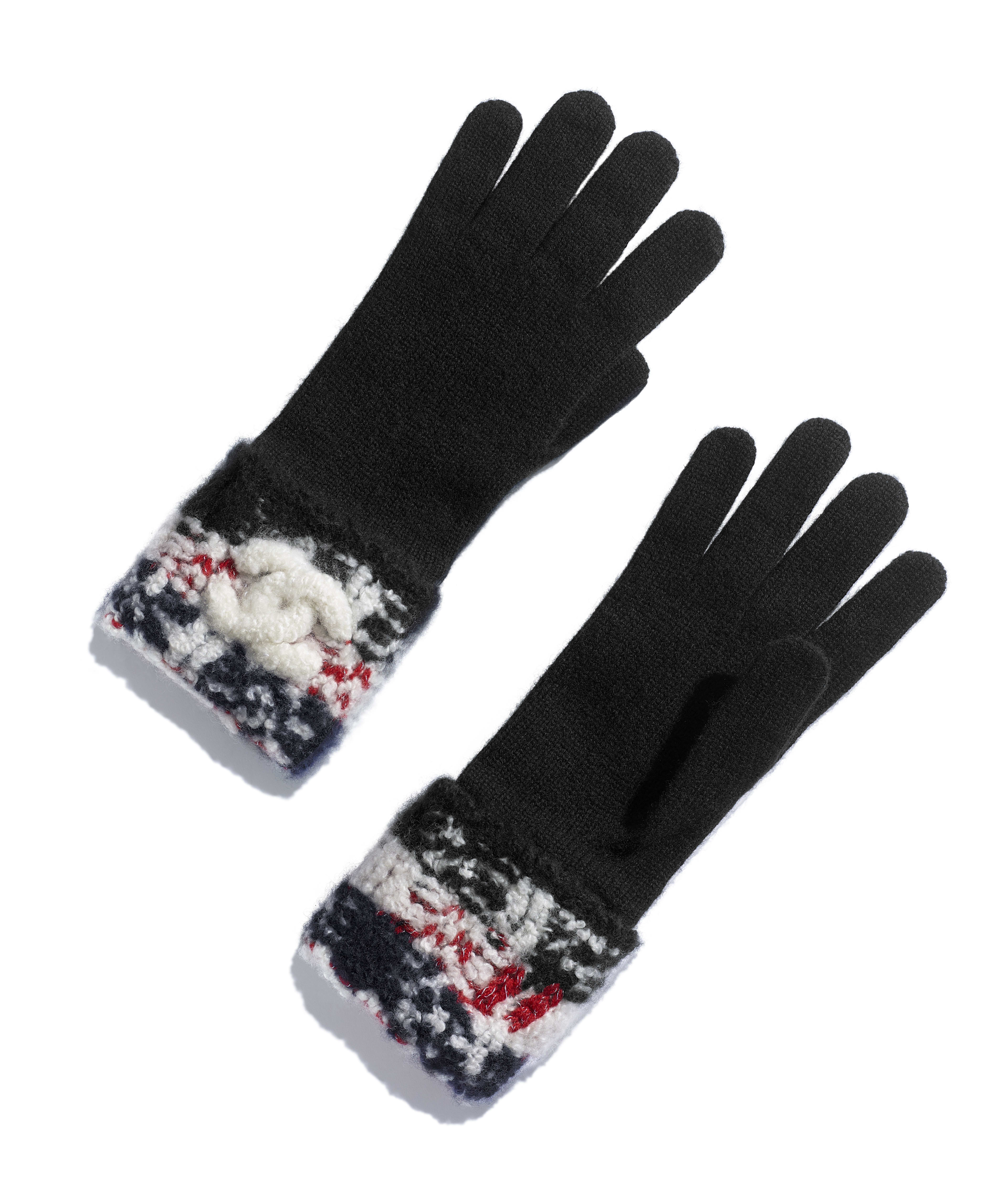 e99b1068f Gloves Cashmere, Red & Black Ref. AA1083X12982C0924