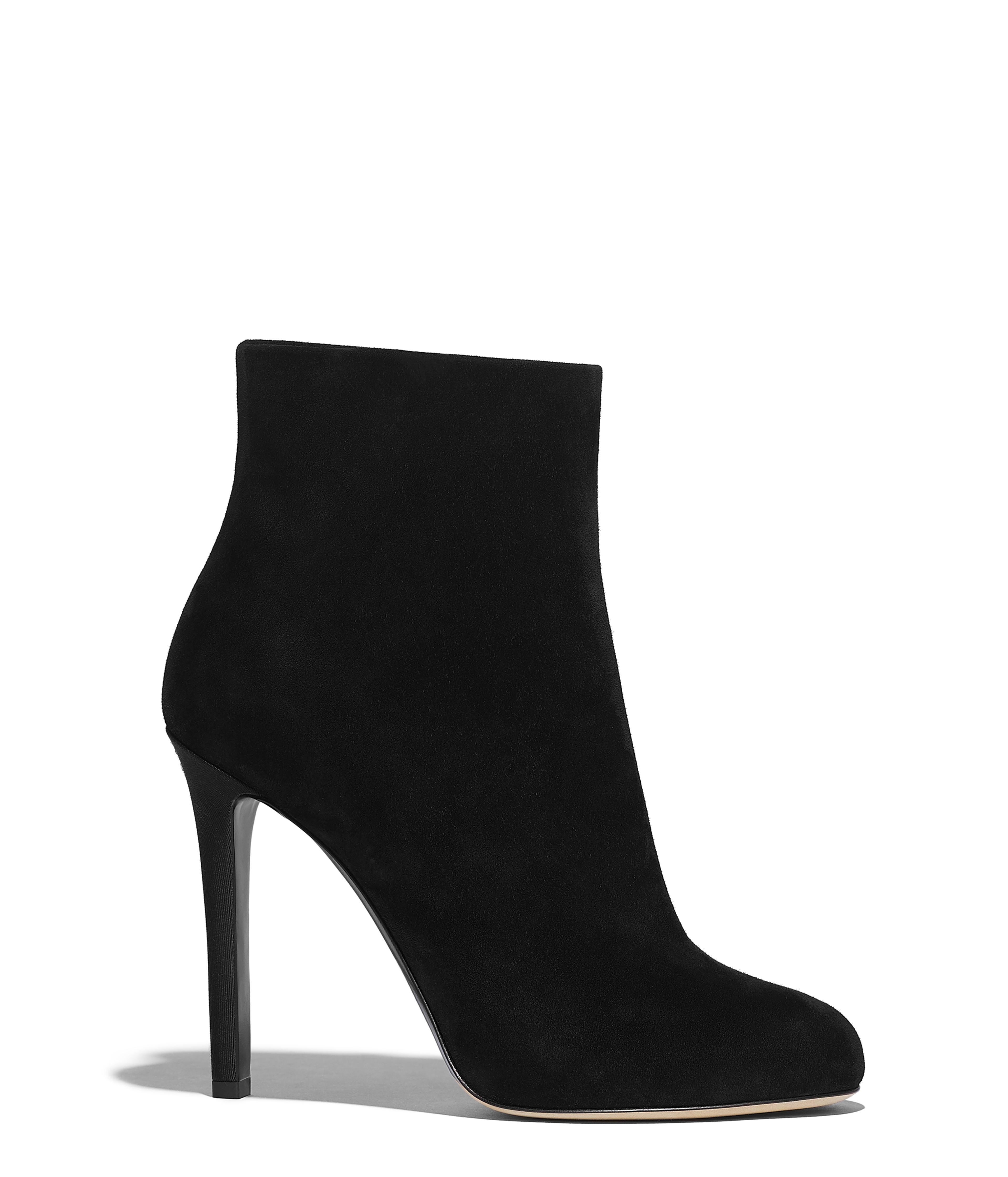 2f7934b0ab Short Boots Suede Calfskin, Black Ref. G35029X5138594305