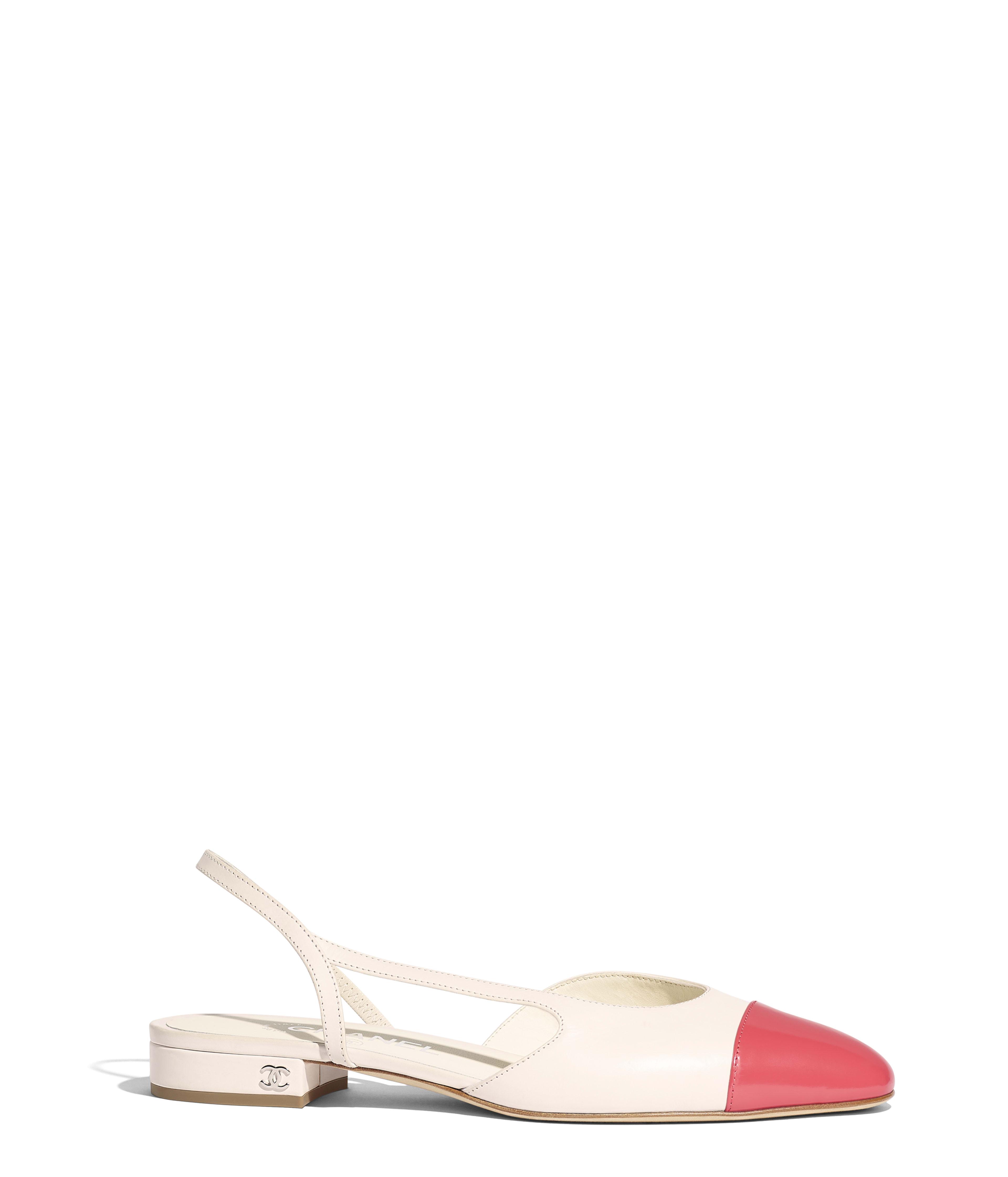 ac4d4807f9a Slingbacks Calfskin   Glazed Calfskin