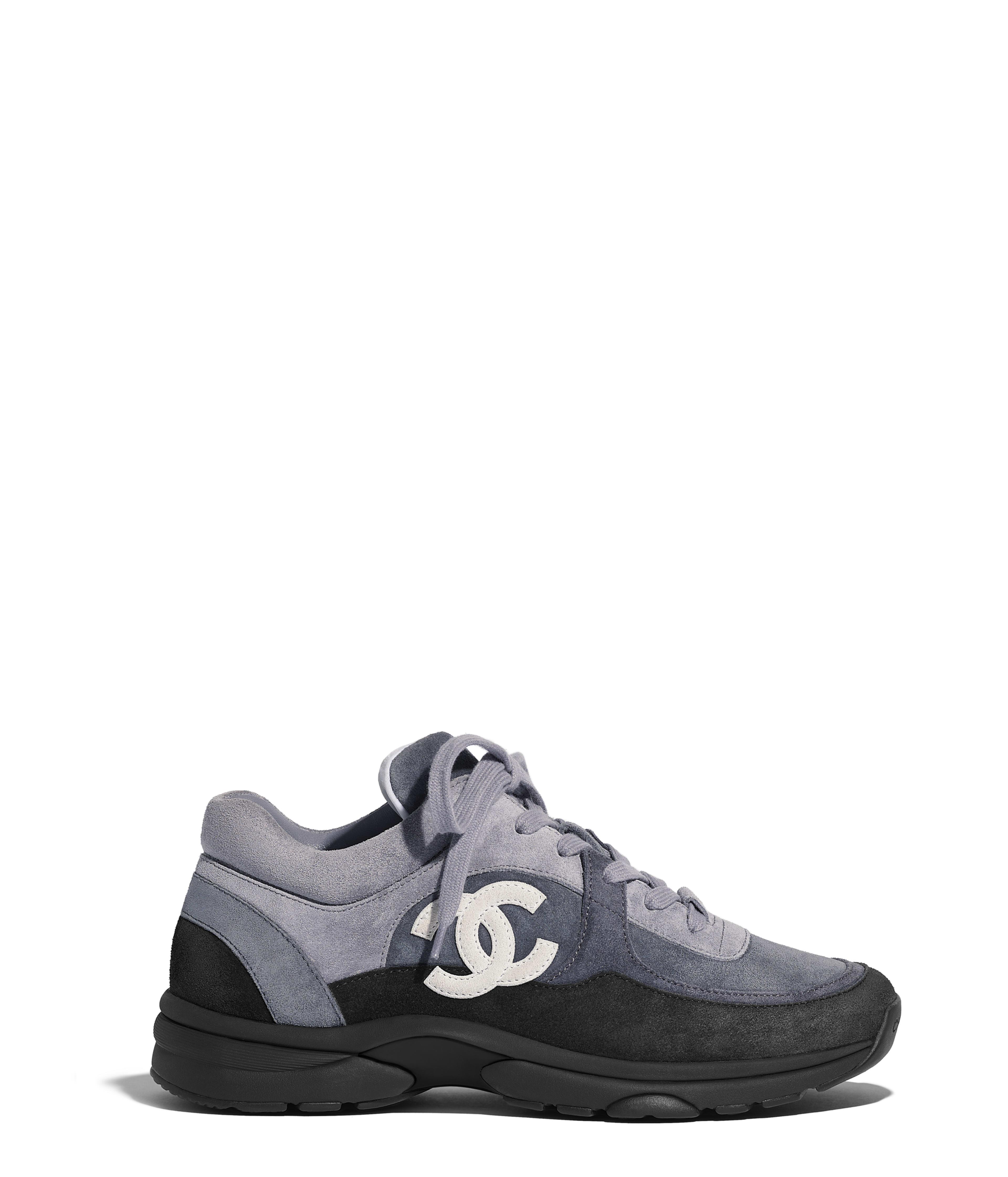4649b80ef28d5f Sneakers Suede Calfskin