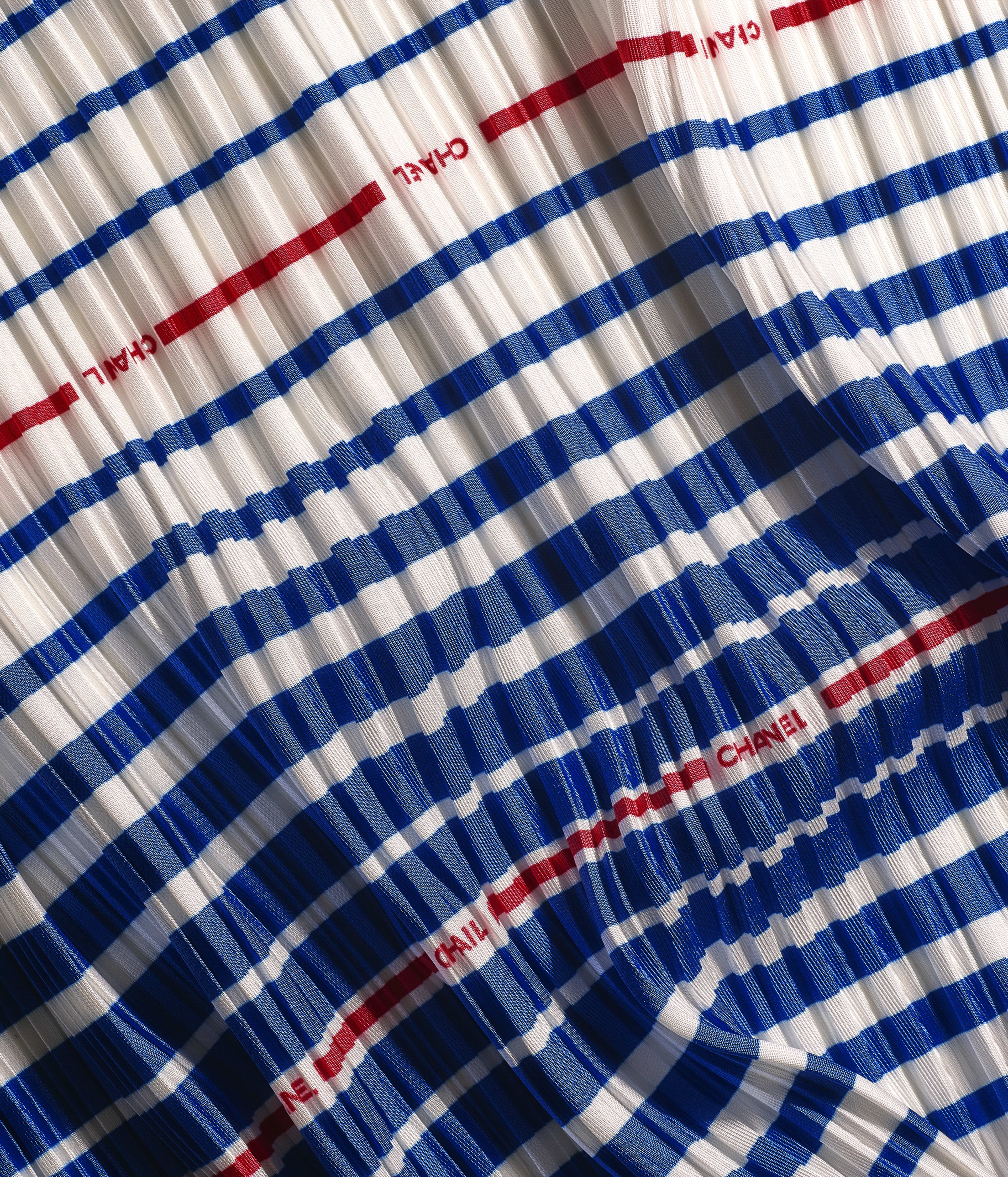 Square Scarf Silk Twill Navy Blue Red Ref Aaxc