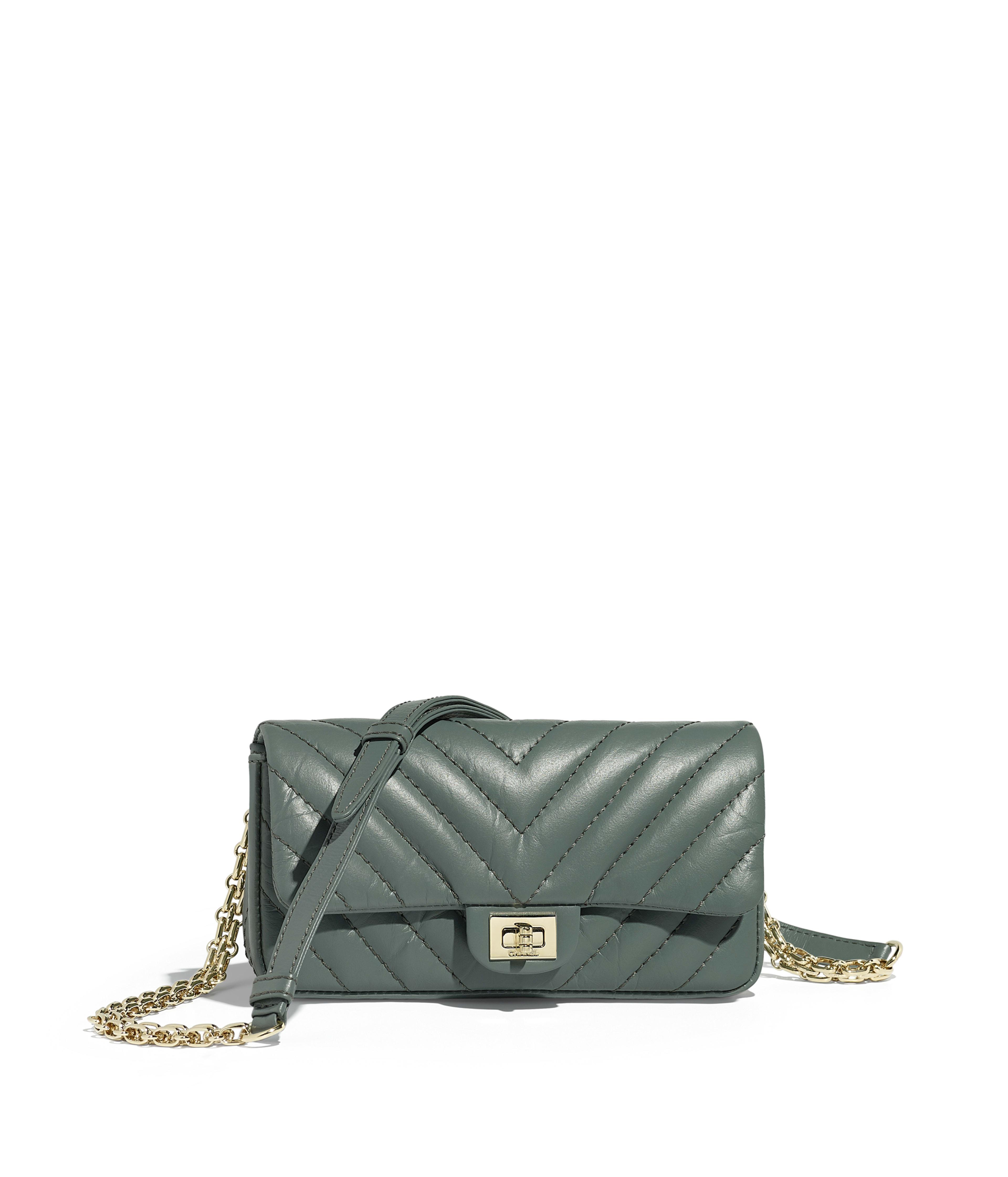 110d6e59aab80 Waist bag green aged calfskin gold tone metal aged calfskin gold tone metal  packshot default a