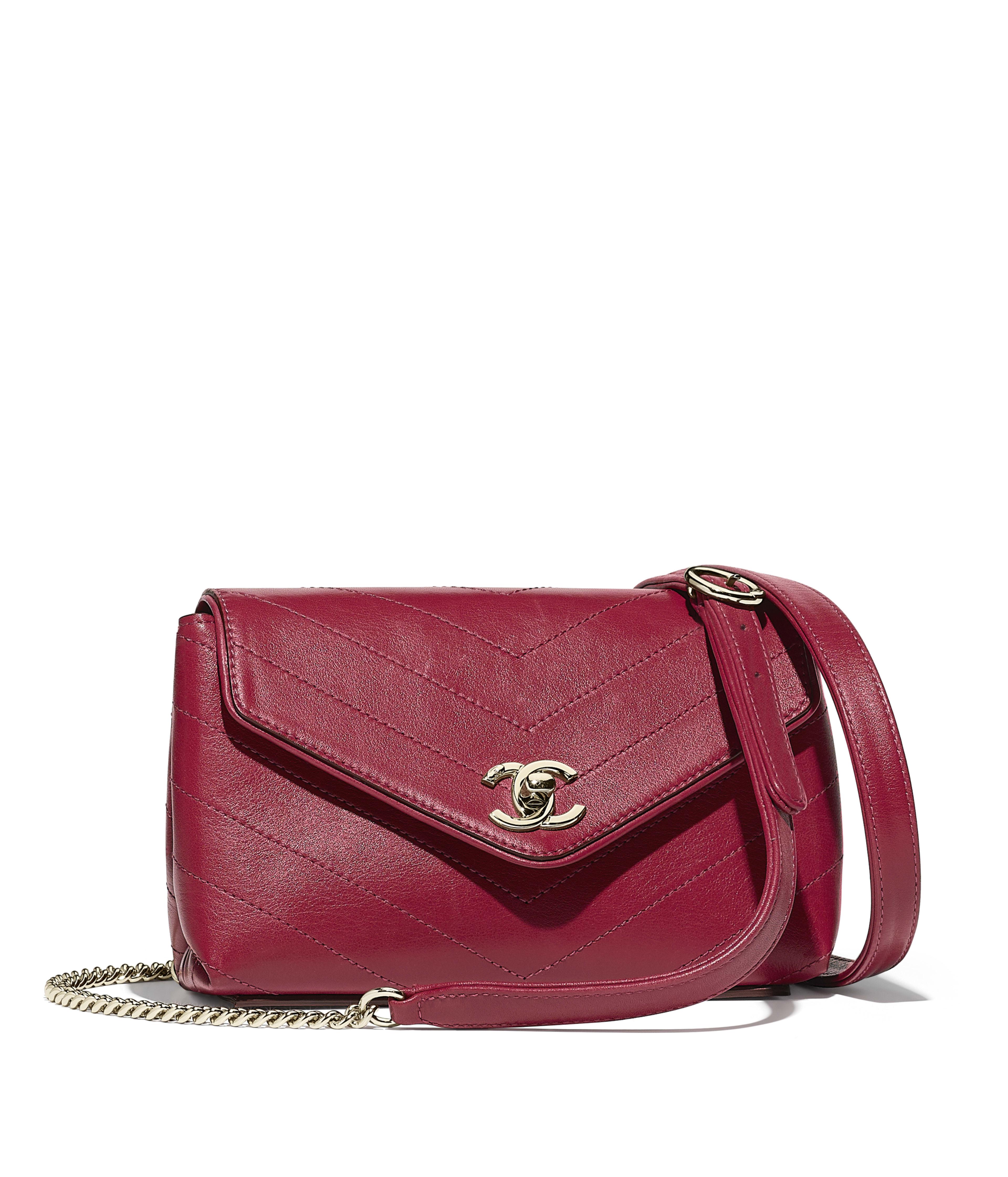 Waist Bag Calfskin Gold Tone Metal Pink Ref A57592y838355b309