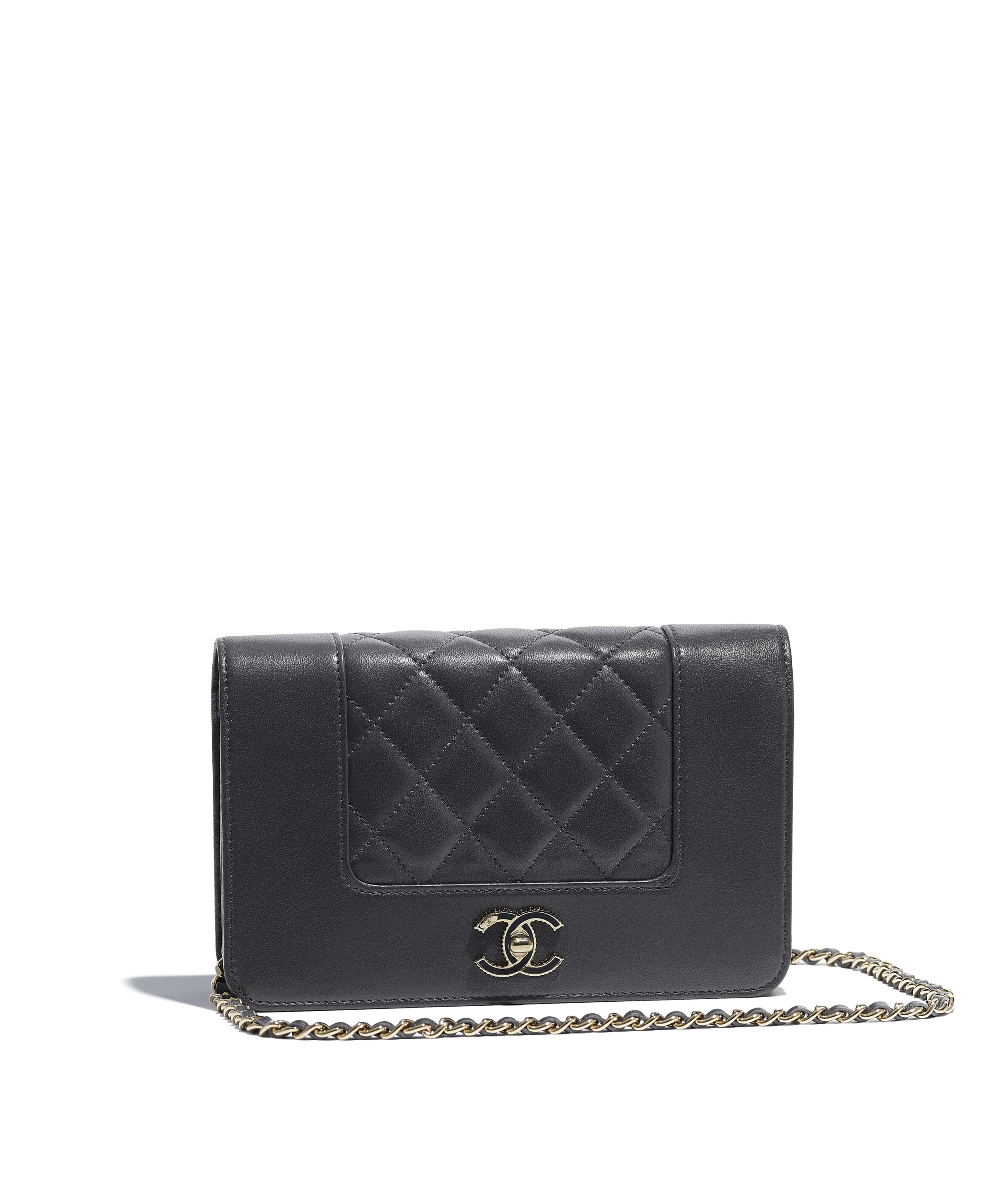 11be90681e4f0 Chanel Black Wallet On Chain - Best Photo Wallet Justiceforkenny.Org