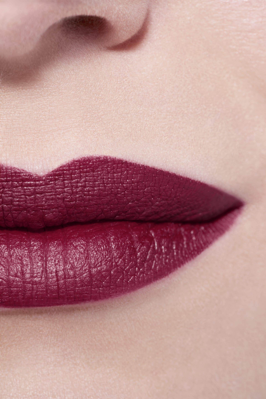 Application makeup visual 3 - LE ROUGE CRAYON DE COULEUR MAT 289 - BLACKCURRANT